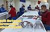 Gençlik Merkezinde koruyucu siper üretimine başlandı