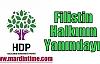 HDP:Filistin Halkının Yanındayız...