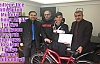 İlçe Milli Eğitim Müdürü AZ ,Türkiye Şampiyonu Başarılı Sporcuyu Bisiklet ile  Ödüllendirdi