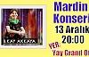 İlkay Akkaya Mardin'de konser verecek