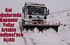 Kar Yağışlarında Kapanan Yollar Artuklu Belediyesi'nce Açıldı