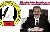 """KGC Başkanı Solhan; 'Gazeteciler her şart altında görevini yapmaktan geri kalmamıştır."""""""