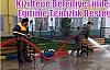 Kızıltepe Belediyesinden Eğitime Temizlik Desteği
