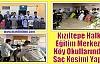 Kızıltepe Halk Eğitim Merkezi Köy Okullarında Saç Kesimi Yaptı