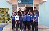 Kızıltepe İstiklal Ortaokulu Voleybolda Doludizgin