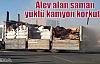 Kızıltepe'de Alev Alan Saman Yüklü Kamyon Korkuttu