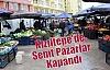 Kızıltepe'de Semt Pazarlar Kapandı
