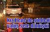 Kızıltepe'de şiddetli yağış sele dönüştü