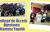 Kızıltepe'de Ücretli Öğretmen Ataması Yapıldı