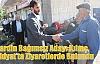 Mardin Bağımsız Adayı Kılınç,Midyat'ta Ziyaretlerde Bulundu