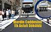 Mardin Caddesine İlk Asfalt Döküldü