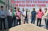 Mardin'de 2021 Yılı Sezonun İlk Arpa Hasadı Yapıldı