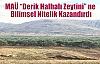 """MAÜ 'Derik Halhalı Zeytini"""" ne Bilimsel Nitelik Kazandırdı"""