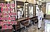 Midyat'ta Berber Ve Güzellik Salonları Dezenfekte Edildi