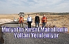 Midyat'ta Kırsal Mahallenin Yolları Yenileniyor