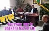 MTDF Yönetimi  DBP İl Başkanı Ziyaret Etti