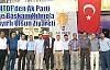 MTDF'den Ak.Parti İlçe Başkanı Kılınç'a Hayırlı Olsun Ziyareti