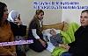 Nusaybin  Belediyesinden Felçli Hastaya Tekerlekli Sandalye
