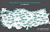 Türkiye'de Yeni Vaka Haritası Açıklandı