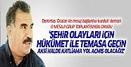 Abdullah Öcalan'dan dört çağrı