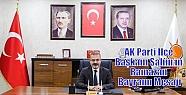 AK Parti İlçe Başkanı Şahin'in Ramazan...