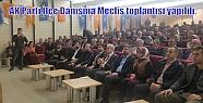 AK Parti İlçe Danışma Meclis toplantısı...