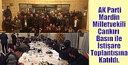 AK Parti Mardin Milletvekili Çankırı...