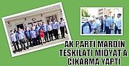 AK PARTİ MARDİN TEŞKİLATI MİDYAT'A...