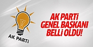 AK Parti'nin yeni genel başkanı Binali...