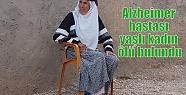 Alzheimer hastası yaşlı kadın ölü...