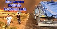 Anız yangını Kızıltepe köylerini sardı