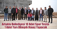 Artuklu Belediyesi 10 Adet Spor Tesisi 1...