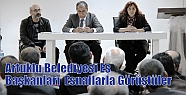 Artuklu Belediyesi Eş Başkanları Esnaflarla...
