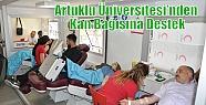 Artuklu Üniversitesi'nden Kan Bağışına...