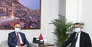Azerbaycan Ankara Büyükelçisi'den Vali...