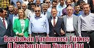 Başbakan Yardımcısı Türkeş İl Başkanlığını...