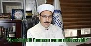 Çelik: 'Berat Kandili Ramazan ayının...