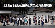 Cezaevlerinden 22 bin 198 hükümlü tahliye...