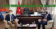 Cezayir Büyükelçisi Kaymakam Çam'ı...