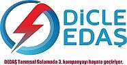 DEDAŞ Tarımsal Sulamada 3. kampanyayı...
