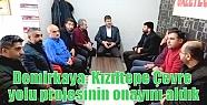 Demirkaya: Kızıltepe Çevre yolu projesinin...