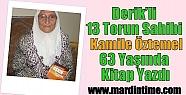 Derik'li 13 Torun Sahibi Kamile Öztemel...
