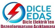 Dicle Elektrik'ten Dezenformasyon Açıklaması
