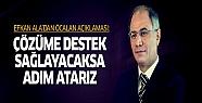 Efkan Ala'dan Öcalan açıklaması