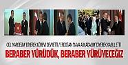 Erdoğan ve Gül'den devir teslimde 'Birlik'...