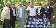 Eş Başkan Türk Sulama Kanalı'nın...