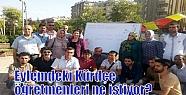 Eylemdeki Kürdçe öğretmenleri ne istiyor?