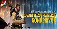 IKYB'den Kobani'ye ağır silahlı 200 peşmerge...