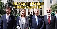 İl Başkanı Eri Mardinli Vekilleri Ziyaret...