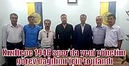 Kızıltepe 1946 spor'da yeni yönetim...